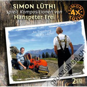 Simon Lüthi spielt Kompositionen von Hanspeter Frei