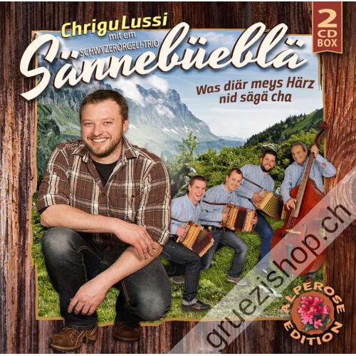 Chrigu Lussi mit em Schwyzerörgeli-Trio Sännebüeblä - Was diär meys Härz nid sägä cha (Alperose-Edition)
